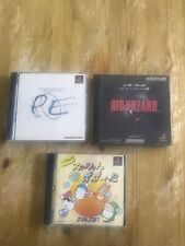 Ps1 Games Jap Bio Hazzard ,parasite Eve ,herberke