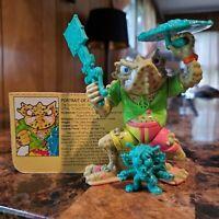 1990 Napoleon Bonafrog Teenage Mutant Ninja Turtles TMNT Figure