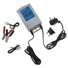 Charger for 12V batteries - REG AGM Deep cycle - 2A or 10A - Automatic - Gunson