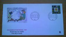 NVPH 1487 Decemberzegel op speciaal 1e dag cover