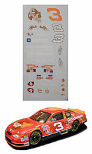 Dale Earnhardt #3 Tazmanian Devil decal 1/64 scale AFX TYco LIfelike Autoworld