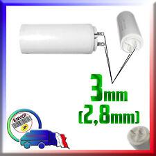 Condensateur de démarrage moteur volet roulant Somfy de 3,5μF - 3,5uF