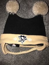 Nwt New Era Nhl Pittsburgh PenguinS Toddler Baby Winter Beanie Bonnet One Size