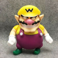"Super Mario Bros. Wario 5"" Yellow Action Figure Collection Nintendo Toy Doll"