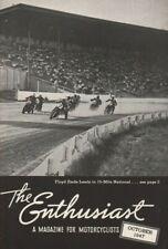 1947 October - The Enthusiast - Vintage Harley-Davidson Motorcycle Magazine