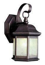Porch light, Outdoor Sconce  BN Hexagonal #4870 Brushed Nickel