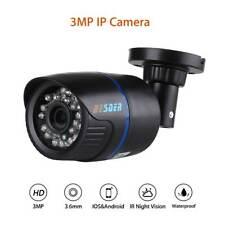 3MP HD 1080P IP Camera 3.6mm Security Onvif IR Night Vision Speed IP66 Outdoor