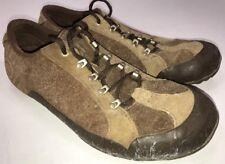 Teva Keagan Brown Suede Leather Hiking Walking Sneaker Low Profile 6045 Mens 11