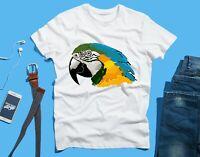 Macaw Parrot Bird FUNNY Novelty T SHIRT Tee