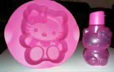 Tupperware Hello Kitty Silikon Backform mit Flasche NEU425ml