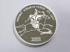 Korea 2005, Hunting/Koguryo Period 4Th Century 20 Won, 40mm, 1oz Silver Proof