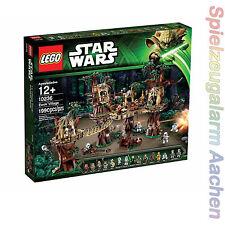 LEGO STAR WARS 10236 Ewok Village 16 MiFigs Wald Basis Forrest Station 1990pcs
