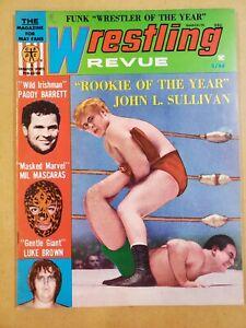 Vintage Wrestling Revue Magazine  - March 1970