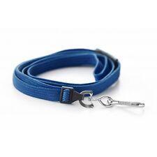 Breakaway Light Blue Premium Safety Lanyard Swivel Metal Clip ID Card Holders