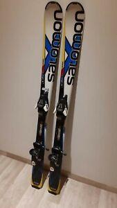 Salomon X Race Junior Abfahrt Carving Ski Inkl Bindung Kinder
