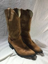 DURANGO Suede RAWHIDE LEATHER WESTERN COWBOY BOOTS RD5302 Womens 8 M