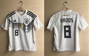 5+/5 Kids Deutschland #8 Kroos 2018/2019 Home Size S Germany shirt jersey 9-10Y