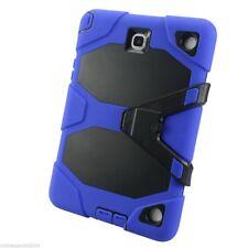 Samsung TAB A 8 T350 T355 Case  Military Grade Heavyduty Dust SHOCK Proof D BLUE