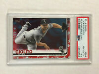 LUCAS GIOLITO 2019 Topps INDEPENDENCE DAY SP /76! PSA NM-MT+ 8.5! Series 2 #664!