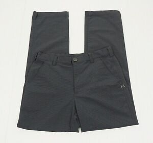 Under Armour UA Bent Grass 2.0 Gray Flat Golf Pants Mens 32 x 32