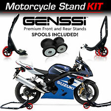 Pro Bike Stand Kit Front & Rear Lift Spool Package for Suzuki GSXR R600 R750