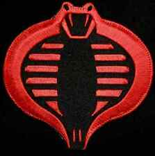 COBRA GI JOE USA ARMY TACTICAL US BADGE RED BLACK VELCRO® BRAND FASTENER PATCH