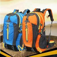 40L Waterproof Backpack Shoulder Bag Outdoor Travel Camping Hiking Bag Rucksack