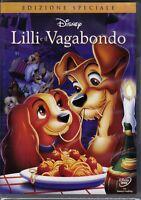 Dvd Disney LILLI E IL VAGABONDO 1 nuovo 1955