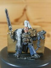 CLASSIC METAL WARHAMMER SPACE WOLVES RAGNAR BLACKMANE PAINTED (2203)