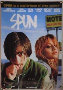 SPUN(2003)JASON SCHWARTZMAN BRITTANY MURPHY LOT OF 5 ORIG 1 SHEET MOVIE POSTERS