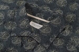 NWOT Tintoria Mattei 954 Size XL Men's Dress Shirt Blue Paisley Contemporary