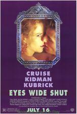 Eyes Wide Shut Movie Poster Original 27x40 Rare Style Tom Cruise Nicole Kidman