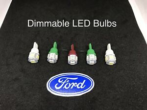 1970-1972 F100 Dimming Instrument Cluster LED Bulbs