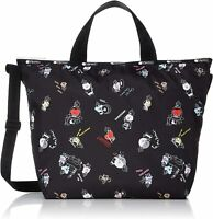 LeSportsac BT21 Black, Easy Carry Tote Crossbody Bag, LeSportsac Logo Strap NWT