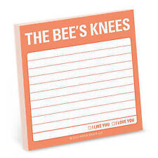 The Bee's Knees Sticky Note (Knock Knock Notes) by Knock Knock | Paperback Book