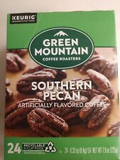 24 GM Flavored Coffee Southern Pecan K cups Keurig Savory Buttery Nutty NSA YUM