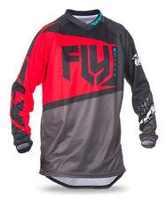 Vestimenta Fly color principal rojo para motocross y enduro