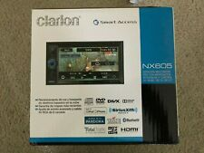 Clarion NX605 2-Din DVD Multimedia Station with Built-In Navigation/Touch Screen