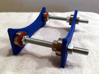 Adjustable 3D Printer Filament Holder - Deep Blue