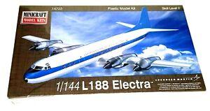 Minicraft Model Kit #14723 - 1/144 L-188 Electra by Lockheed Martin- NEW Sealed