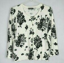 Jacqui E Women's Button Up Top Size XL