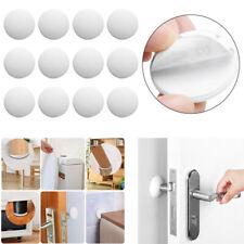 12 Strong Self Adhesive Door Knob Stopper Bumper Handle Guard Wall Protector 4cm