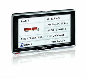 BECKER Navi active.6 Transit LKW PKW - Navigationsgerät 6 Zoll