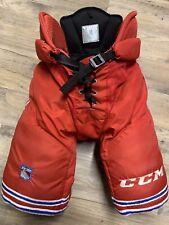 CCM UCLP Pro Stock Hockey Pants New York Rangers Hp45 Large