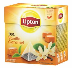 Lipton Tea Caramel Vanilla 20 bags