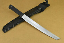 """17.3"""" doughty sharp 5mm 58HRC tactical camp combat bowie survival hunting knife"""