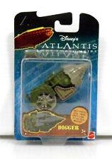 Disney Atlantis Lost Empire Die-Cast Replica Toy Vehicle Digger Fox Garner Nimoy