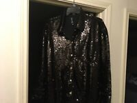 Berek Sequin Jacket Size M