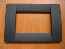 Vimar Idea 16743  Black Outlet Cover 3 Module - Free Shipping