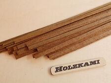 40 Holzleisten Teak  500mm x 1mm  bis  5mm x 0.6mm  L/B/H  Neu